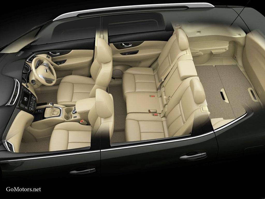 Nissan X-Trail interior 2014