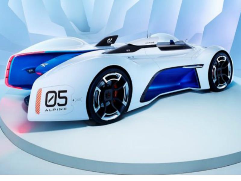 Renault Alpine Vision Gran Turismo Concept
