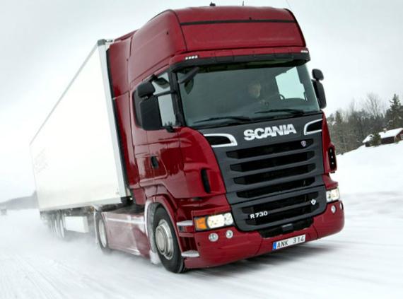 Scania V8 Truck Range