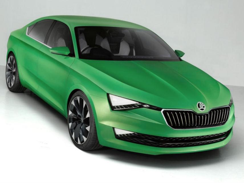 Skoda VisionC Concept 2014