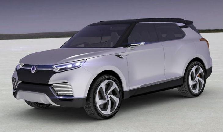 SsangYong XLV Concept 2014