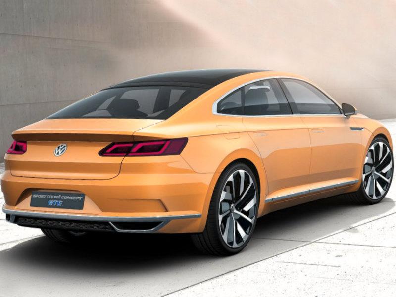 Volkswagen Sport Coupe GTE Concept 2015