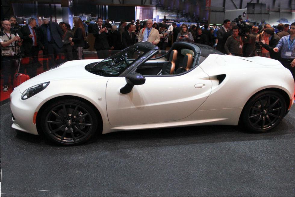 2015 Alfa Romeo 4C Spider Concept