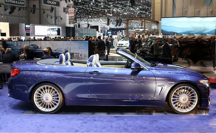 2015 Alpina BMW B4 Bi-Turbo Cabrio