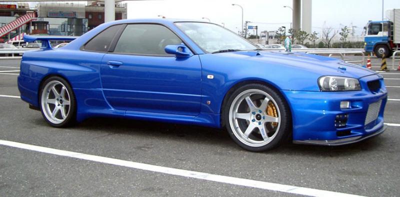 Nissan Skyline R34 GT-R Driftcar