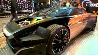 Peugeot ONYX - Behind the scenes - Top Gear - Series 19 - BBC