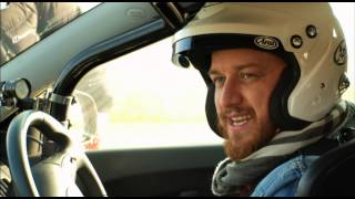 James McAvoy - Behind the Scenes - Top Gear - Series 19 - BBC