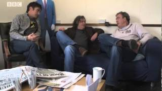 The presenters intro to episode 5 series 18 - Top Gear - BBC