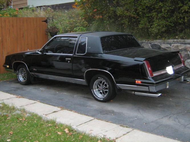 1986 cutlass supreme t tops pictures to pin on pinterest for 1986 oldsmobile cutlass salon