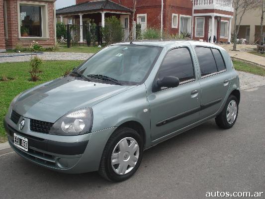 Renault Clio 2003 Interior Renault Clio 2003