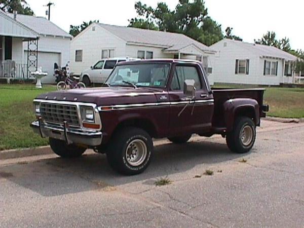 1978 Ford Stepside Pickup Trucks For Sale   Autos Weblog