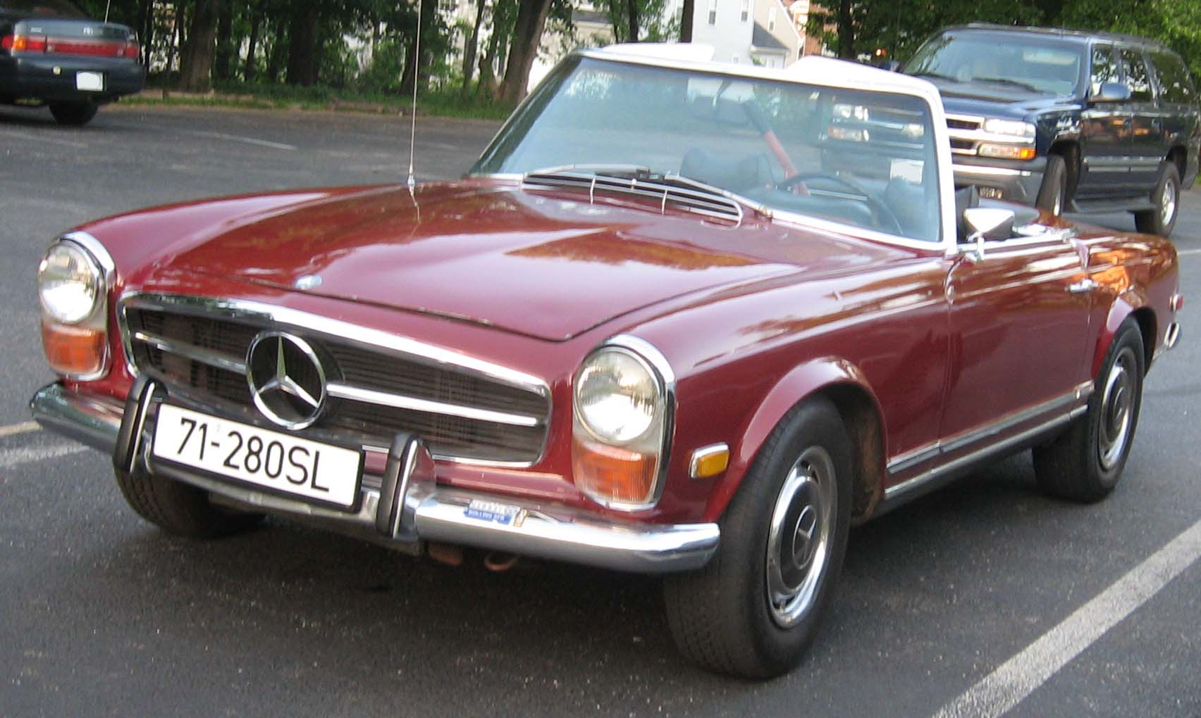 Mercedes Benz 280 Sl Picture 7 Reviews News Specs