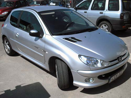 peugeot 206 quicksilver picture 15 reviews news specs buy car. Black Bedroom Furniture Sets. Home Design Ideas