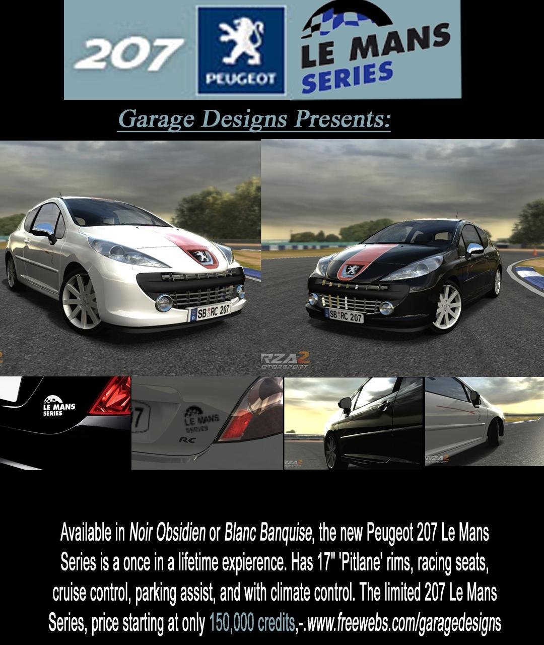 peugeot 207 le mans series picture 1 reviews news specs buy car. Black Bedroom Furniture Sets. Home Design Ideas