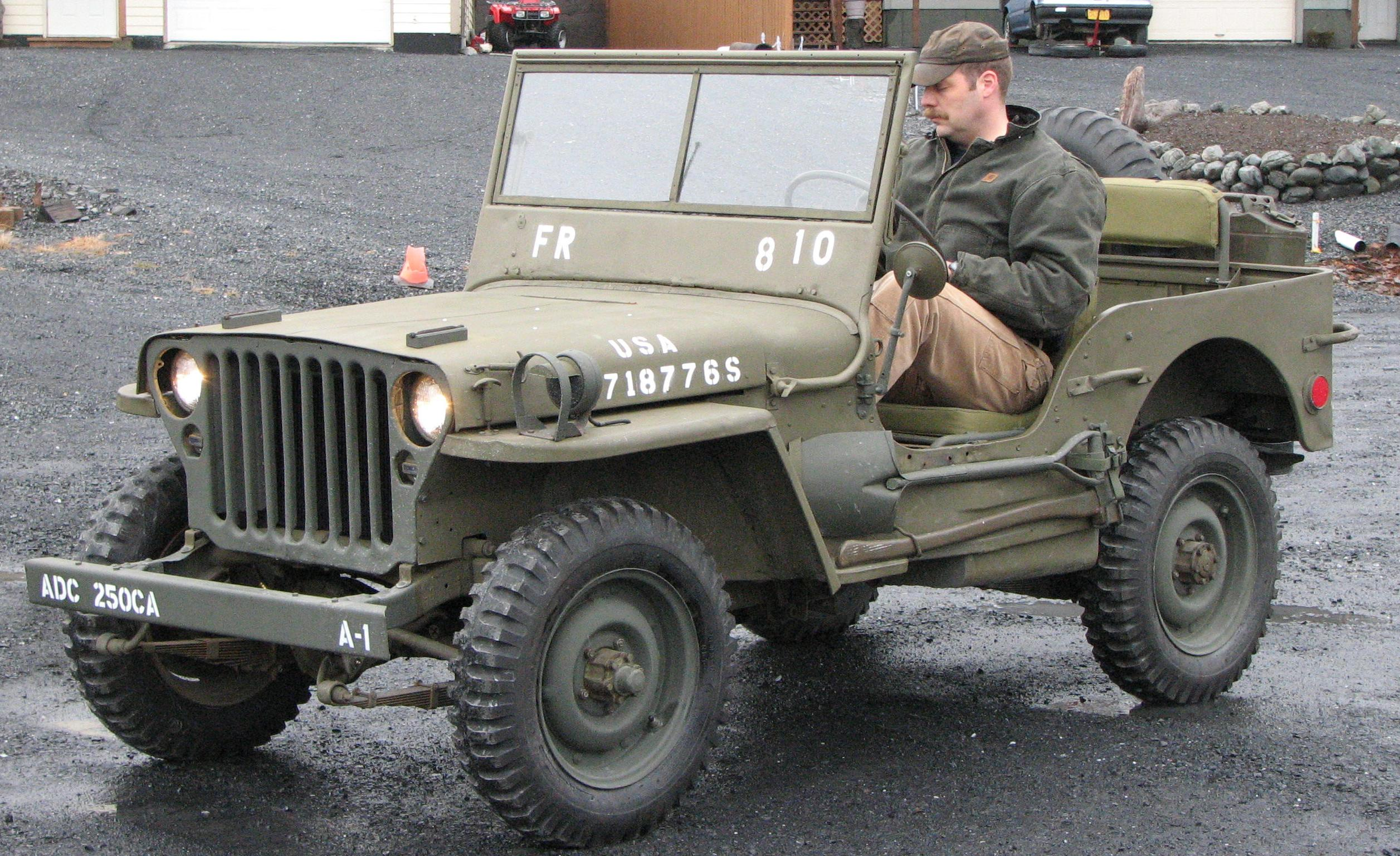 Saw an actual willys jeep the other day sorry no pix archive mx 5 miata forum
