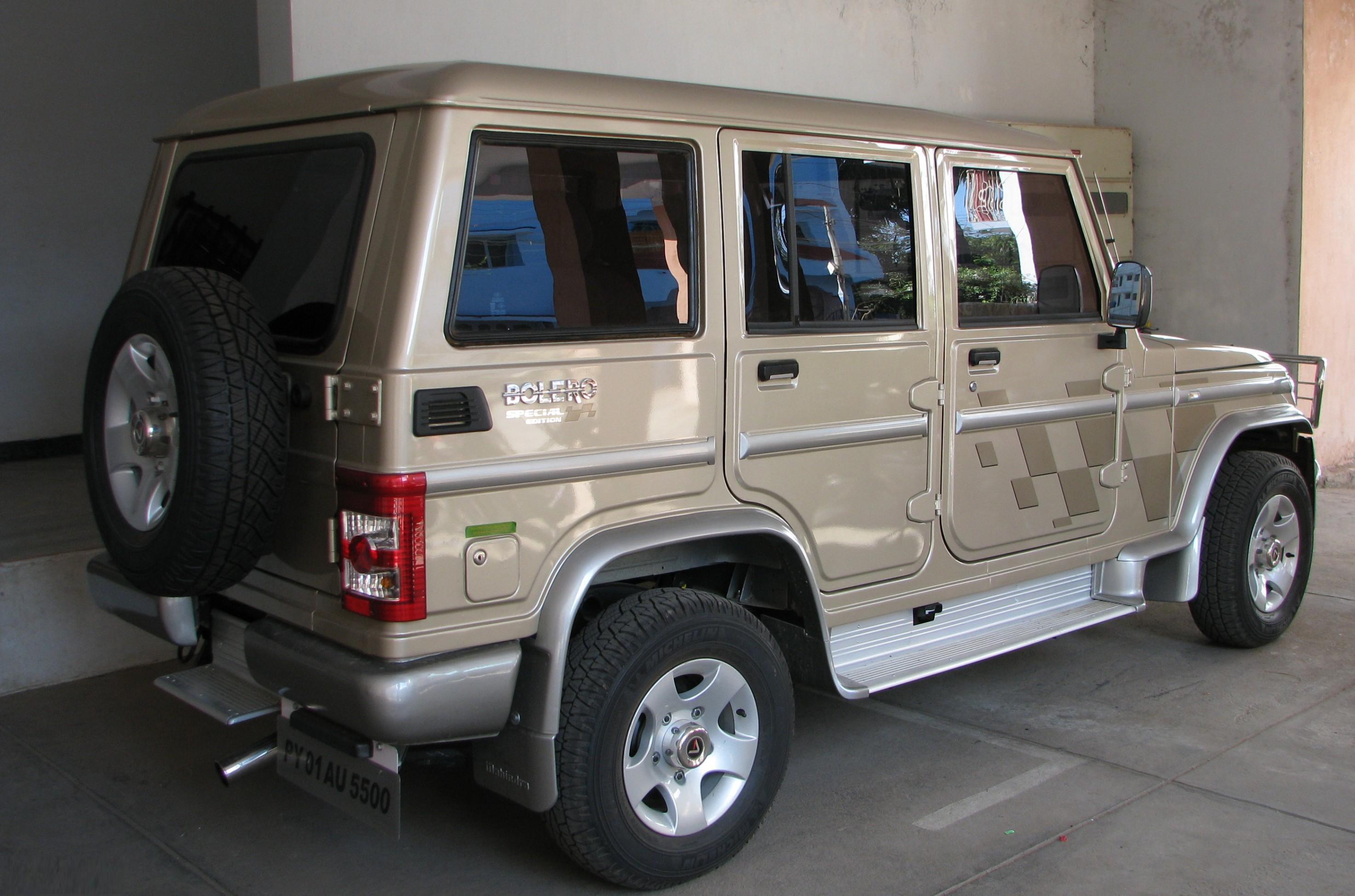Mahindra Bolero Photos Reviews News Specs Buy Car