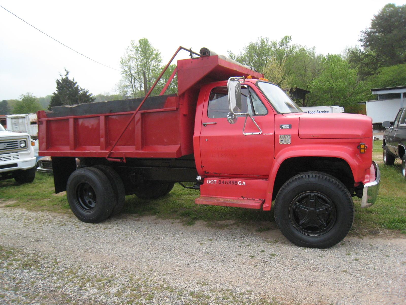 Chevy C60 Dump Truck