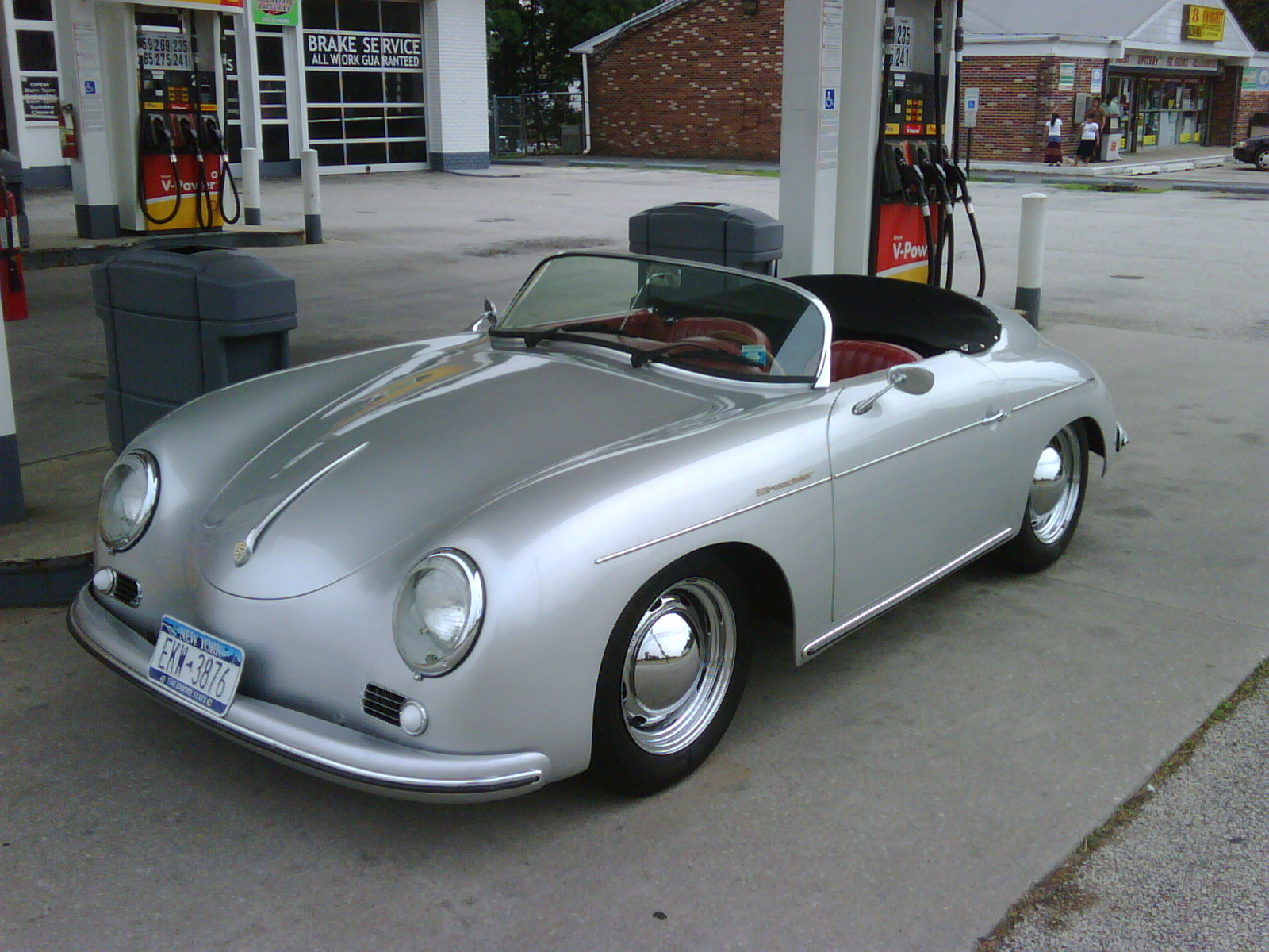 Porsche 356 Speedster Replica Picture 12 Reviews News