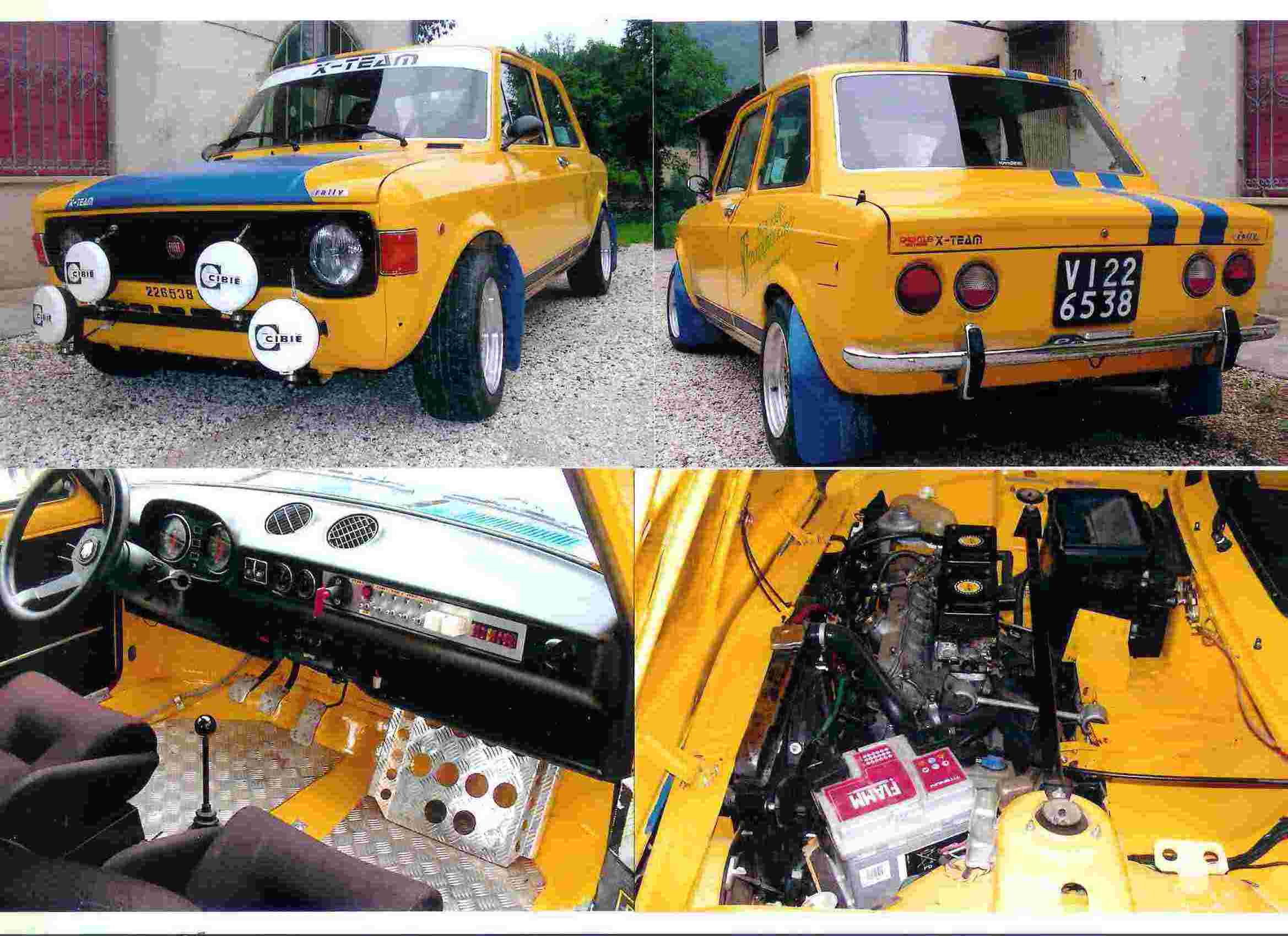Fiat 128 Rally Picture 6 Reviews News Specs Buy Car