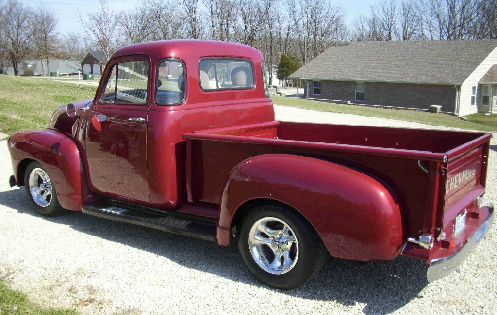 5 window chevy truck history