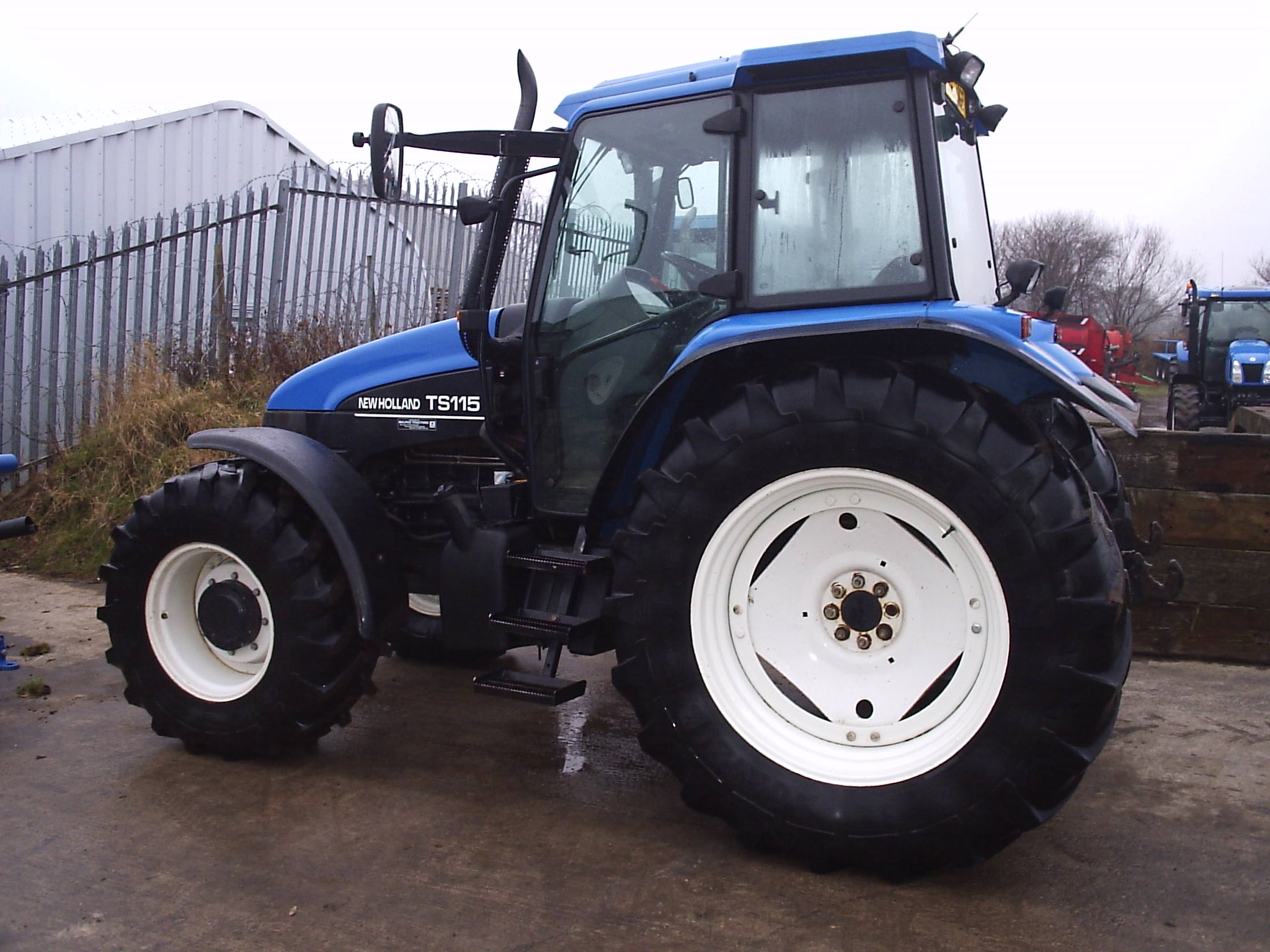 New Holland TS 120:picture # 5 , reviews, news, specs, buy car