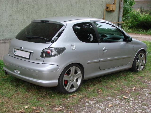 peugeot 206 gt picture 14 reviews news specs buy car. Black Bedroom Furniture Sets. Home Design Ideas