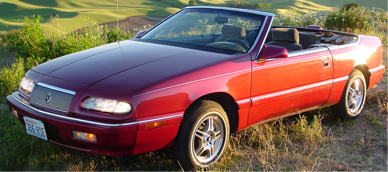 Chrysler LeBaron convertible