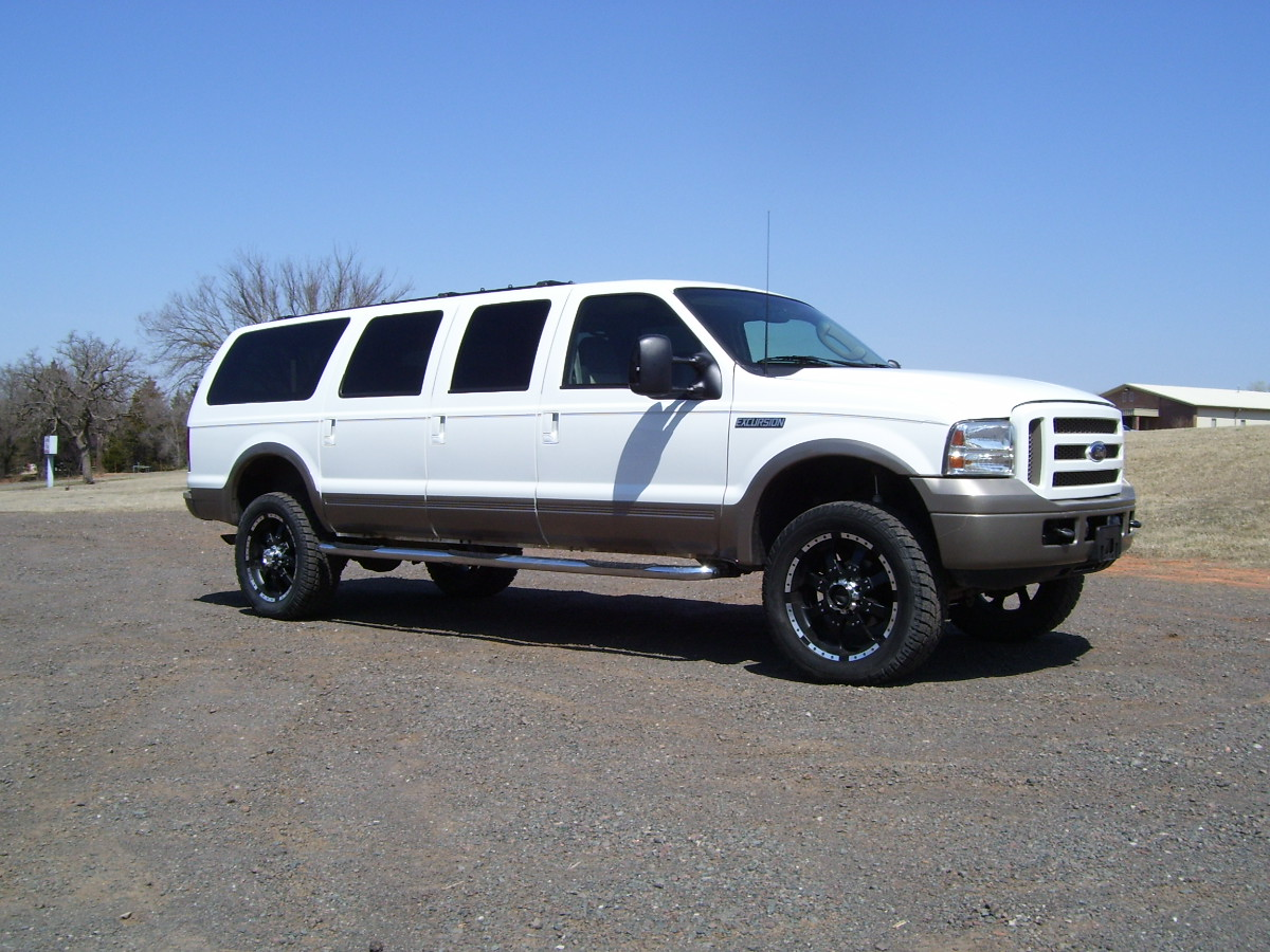 2014 Ford Explorer Towing Capacity >> Ford Excursion Eddie Bauer:picture # 1 , reviews, news ...