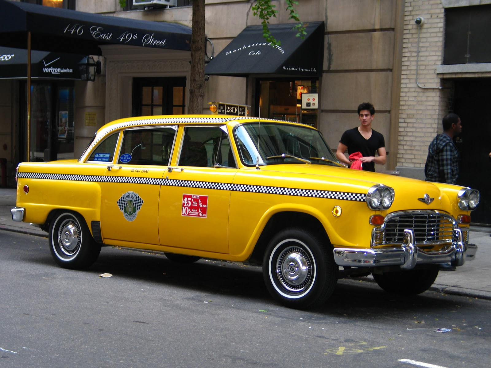 Checker cabs photos reviews news specs buy car - Order a cab ...