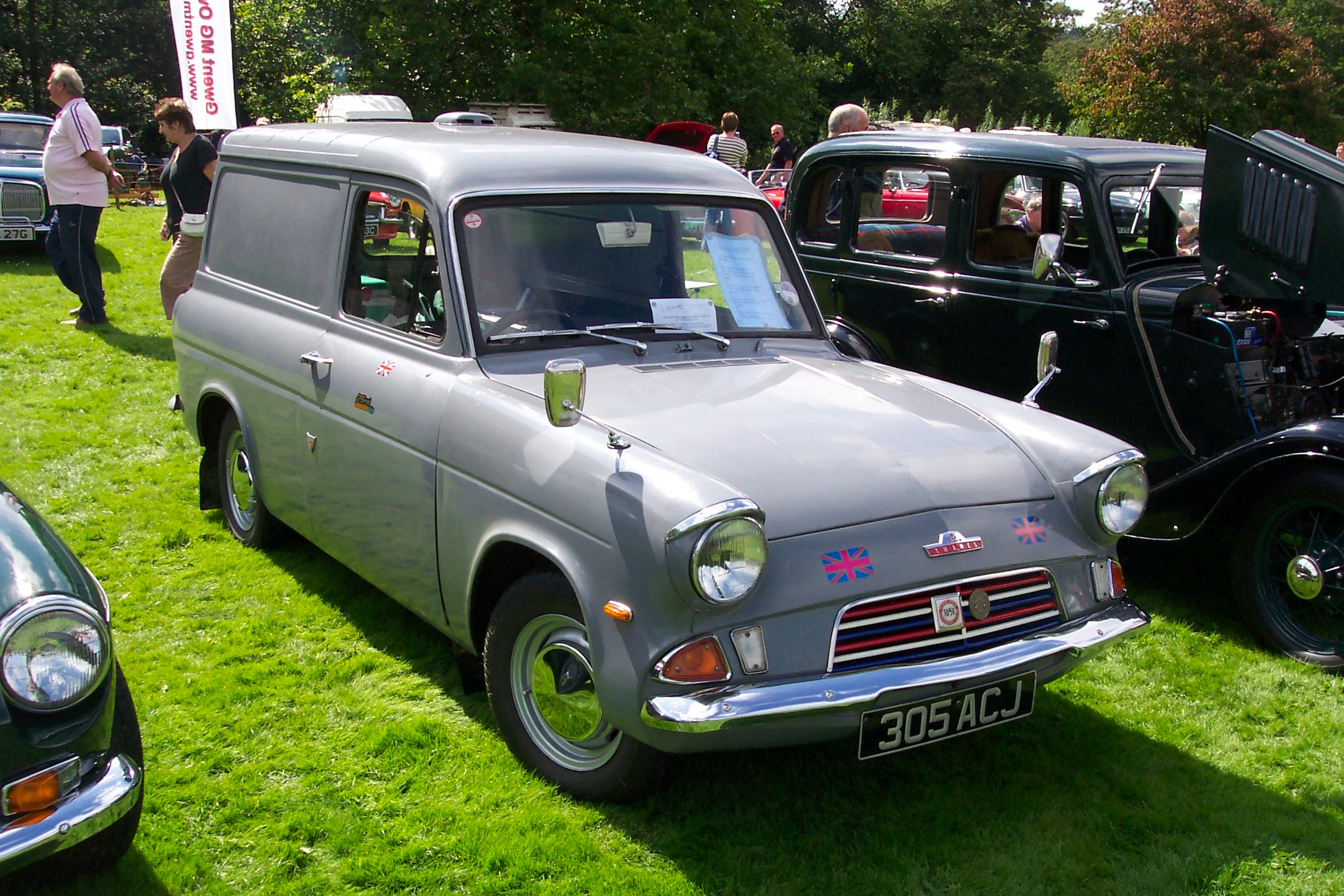 Ford Anglia Panel Van