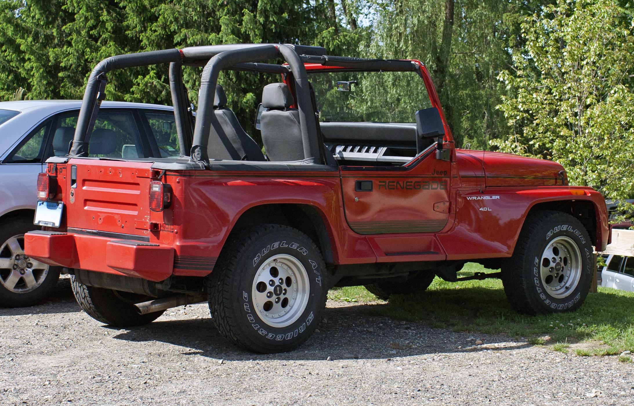 Jeep Wrangler Renegade >> Jeep Wrangler Renegade Picture 14 Reviews News Specs