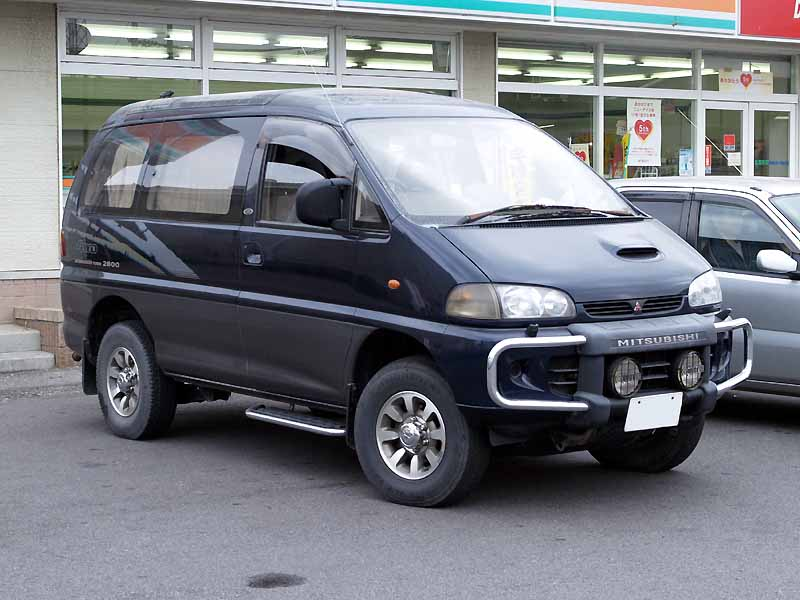 mitsubishi delica 4x4 photos reviews news specs buy car. Black Bedroom Furniture Sets. Home Design Ideas