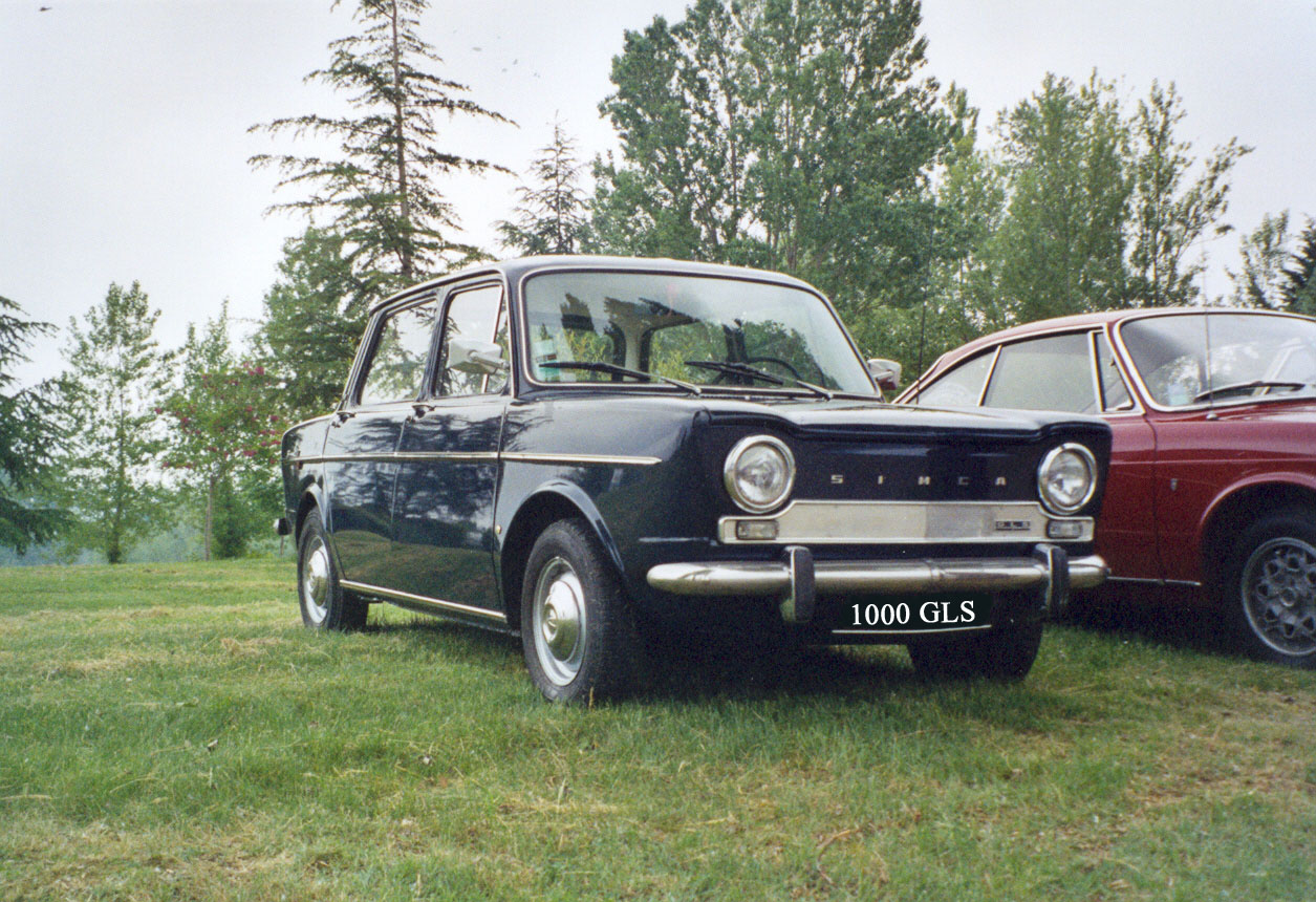 Simca 1000 Gls Picture 15 Reviews News Specs Buy Car