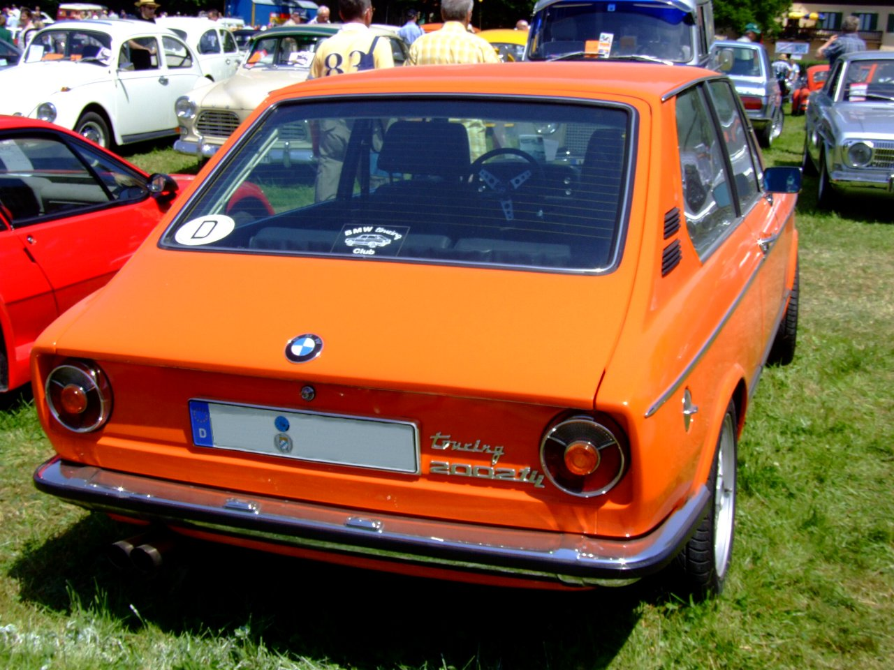 Bmw 2002 Tii Touring Picture 6 Reviews News Specs Buy Car