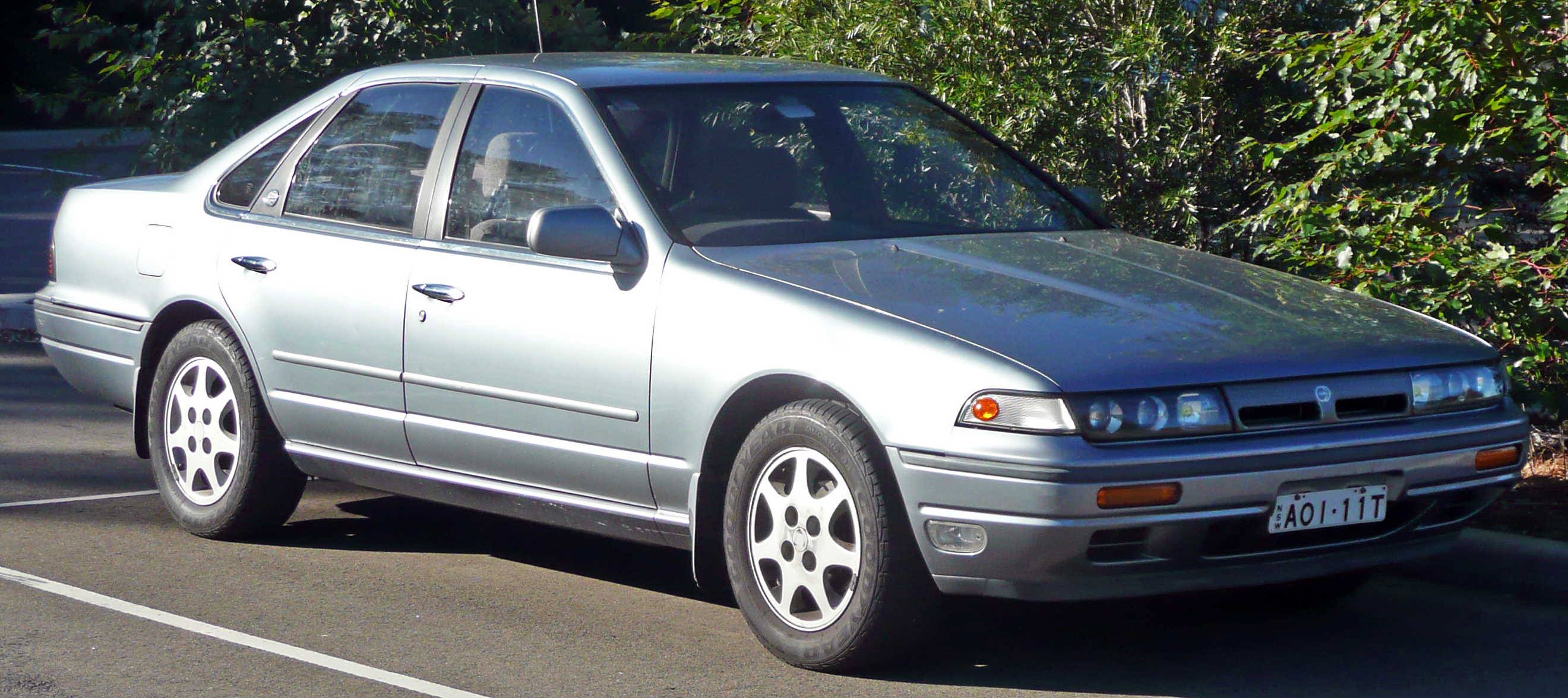 File Nissan Cefiro A Sedan Jpg
