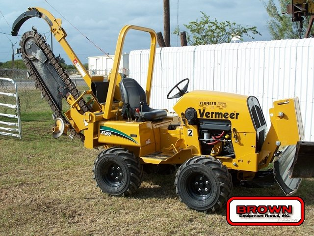 Vermeer RT450 trencher:picture # 9 , reviews, news, specs