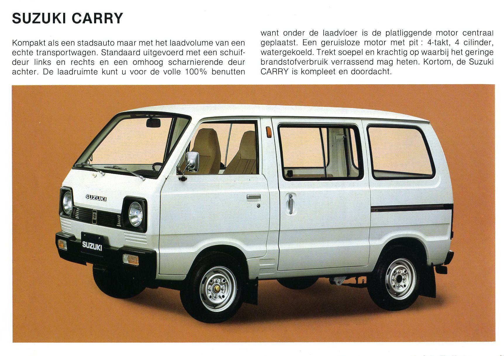 Suzuki Carry Photos Reviews News Specs Buy Car