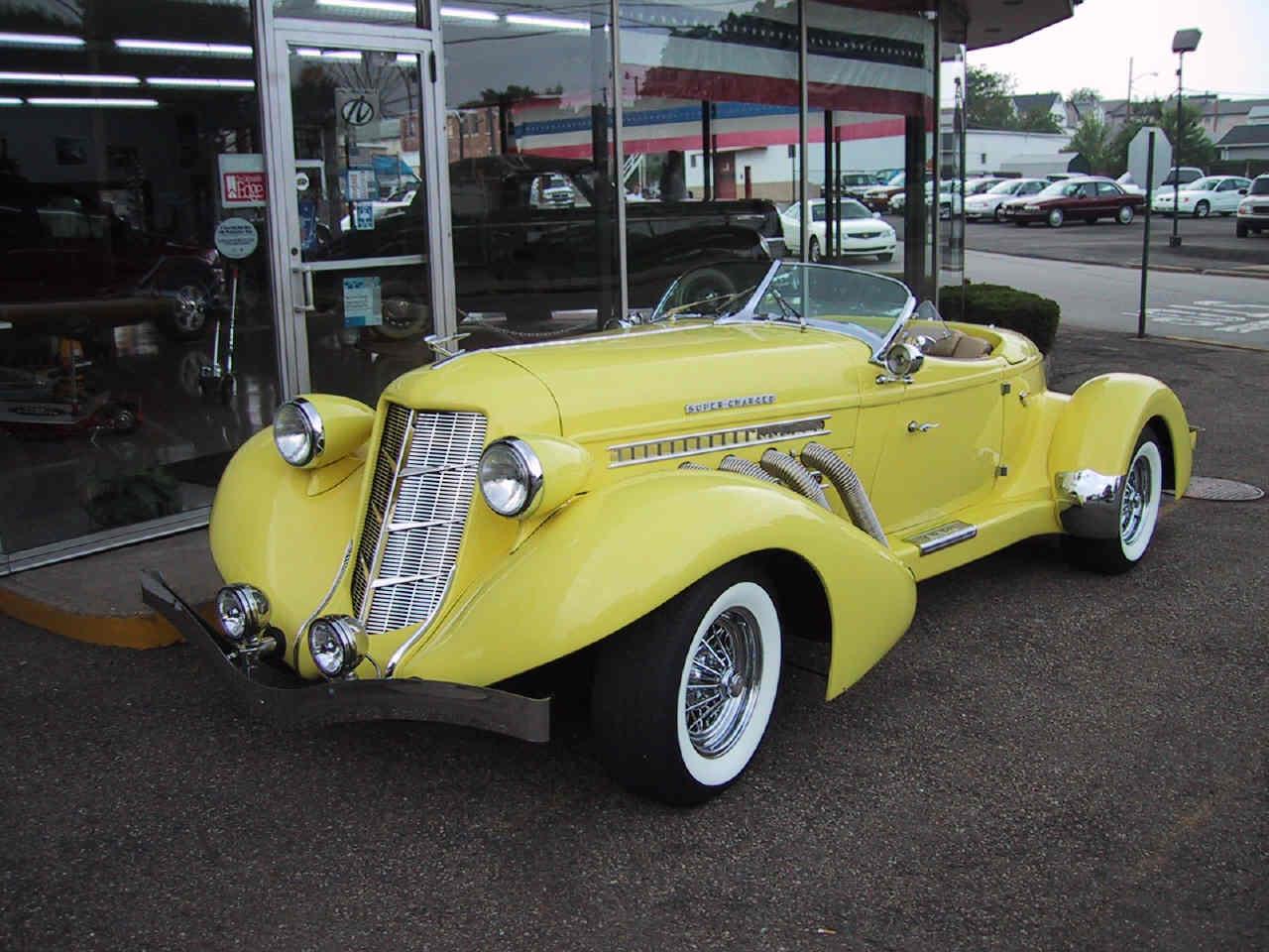 Auburn Boattail Speedster Picture 9 Reviews News