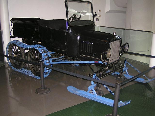ford snow machine