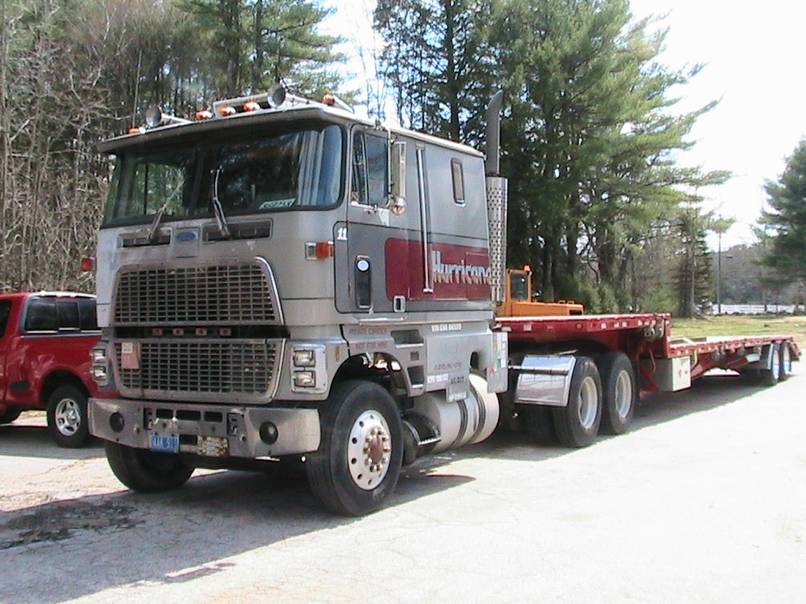 Ford 9000 Cabover Interior : Cl ford