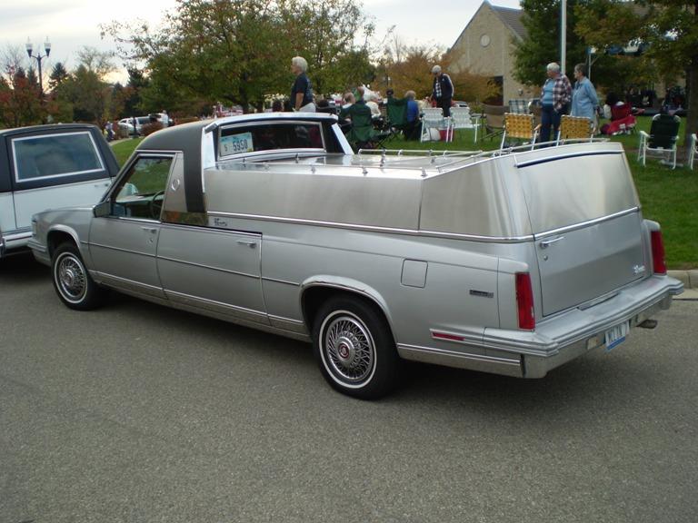 2016 Cadillac Funeral Coach