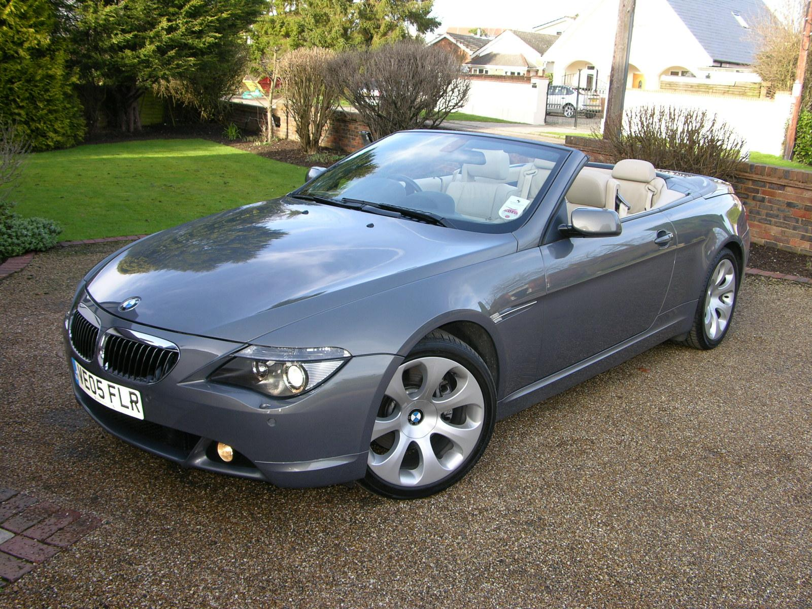 bmw 645 ci cabriolet photos reviews news specs buy car. Black Bedroom Furniture Sets. Home Design Ideas
