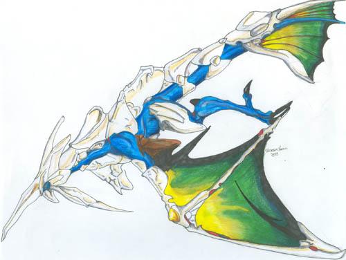 Scifi And Fantasy Art Unknown Dragon Class By Vanessa Chacon Dbd