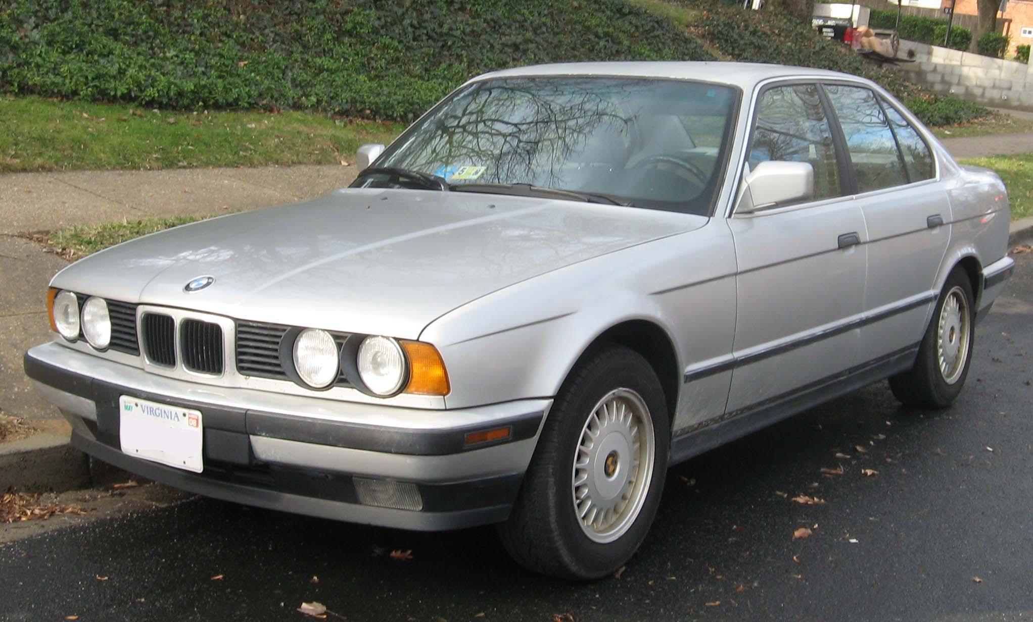 1988 BMW 525i Automatic E34