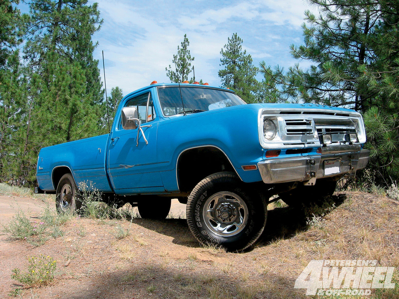 Dodge W200 Power Wagon Picture   6   Reviews  News  Specs