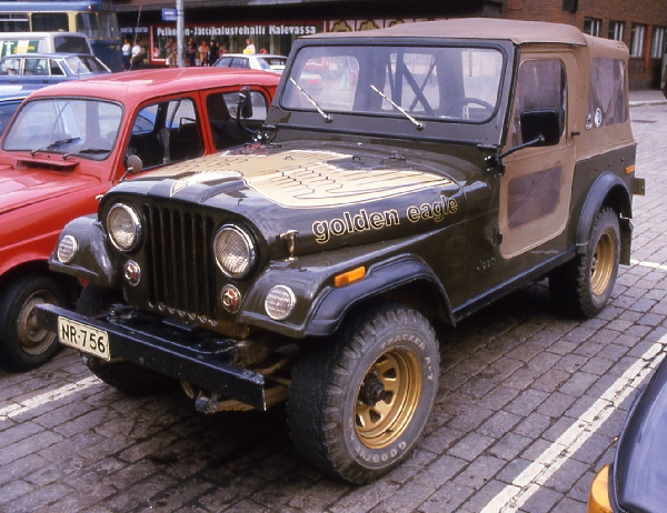 Jeep Cj 7 Golden Eagle Photos Reviews News Specs Buy Car