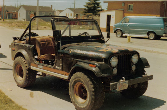 Jeep Cj 7 Golden Eagle Picture 7 Reviews News Specs