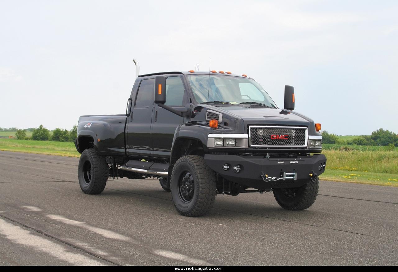 Monroe Truck Equipment >> Ironhide Edition Gmc Topkick 6500 Pickup By Monroe Truck Photo .html | Autos Weblog