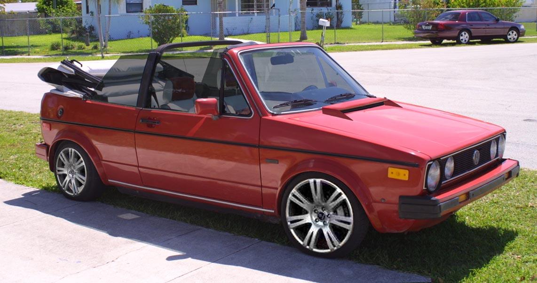 Volkswagen Cabriolet Volkswagen