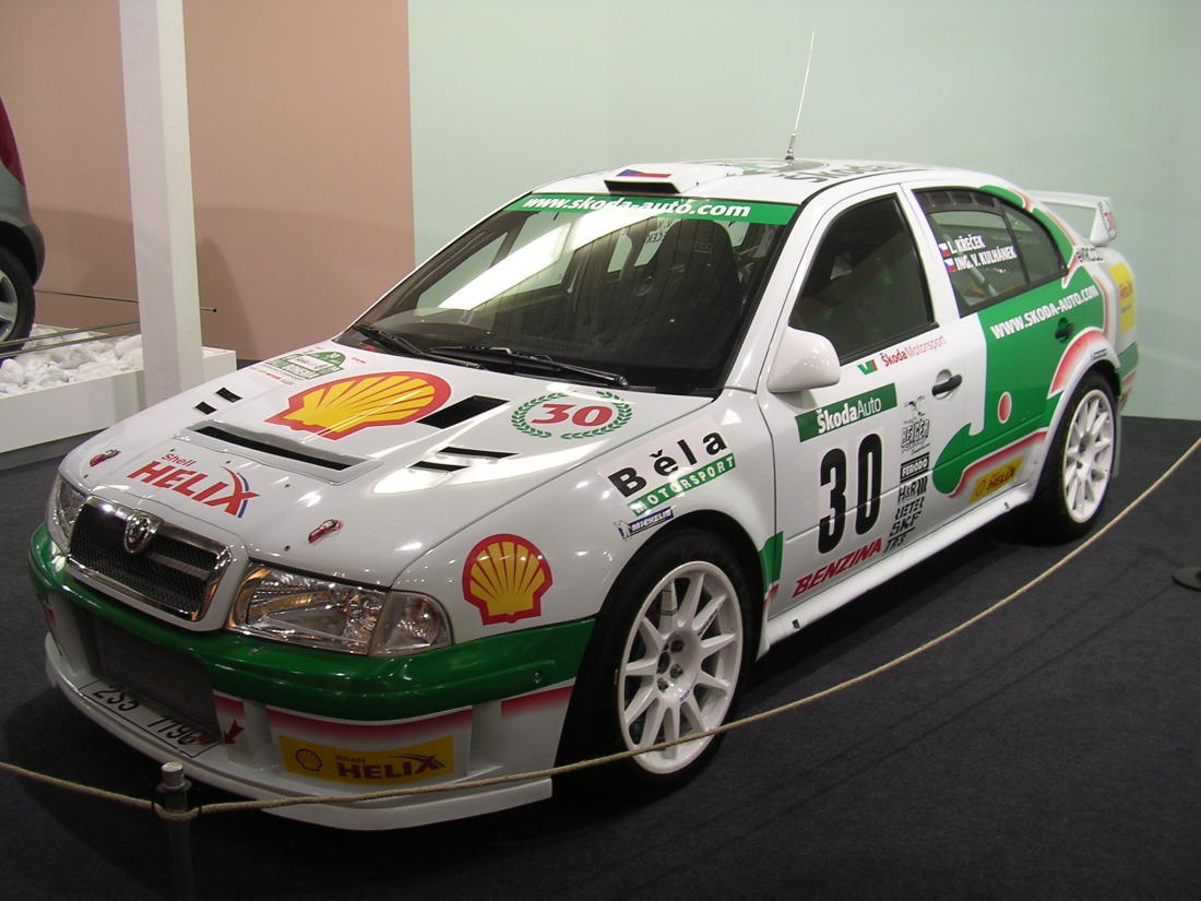 Skoda Octavia WRC (pictured is the Evo 3 model)